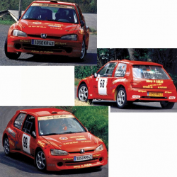 Kit carrosserie complet - Peugeot 106 Ph.2 Maxi