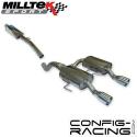 Catback Milltek Renault Clio 2 RS 182cv - avec silencieux intermédiaire