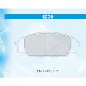 Plaquettes CARBONE LORRAINE Honda Civic VII Type R (EP3)