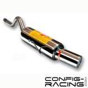 Silencieux inox RC Racing Renault Clio 2 1.6 16v