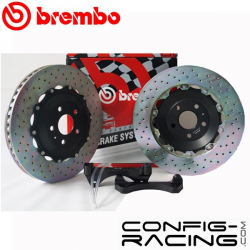 Kit BREMBO Grand Turismo Audi TT RS (8J) Avant : 380x32