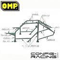 Arceau OMP ONS Lancia Delta Intégrale Multipoints à boulonner