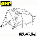 Arceau OMP RAC Peugeot 106 Multipoints à souder