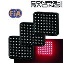 Feux de pluie 56 Leds FIA PACK de 3