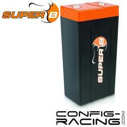 Batterie Lithium Super B - 20 A/h - démarrage 1000A - 120x80x255 mm