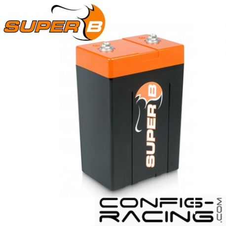 Batterie Lithium Super B - 15 A/h - démarrage 900A - 120x80x200 mm