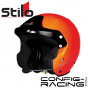 Casque STILO TROPHY DES Offshore - FIA - SA2015 - orange
