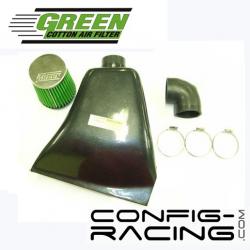 Boîte à air dynamique GREEN - Clio II RS 182cv