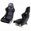 Baquet RECARO Pole position - Homologué route - coque carbone