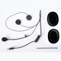 Kit micro + écouteurs CRC - Casque Jet - Radio Peltor / Sparco
