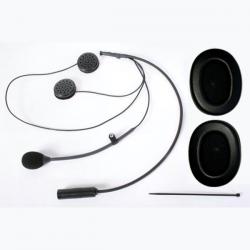 Kit micro + écouteurs CRC - Casque Jet - Radio Stilo WRC