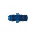 Adaptateur Acier - 1/8x27 NPT Concave / 3/8x24 JIC Convexe