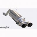 Silencieux Inox Inoxcar Alfa Mito 1.4 (120cv) - 2x80 Racing