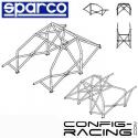 Arceau Standard FIA SPARCO Nissan Skyline R34 8 PTS à boulonner