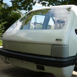 Lunette arrière Makrolon Peugeot 205