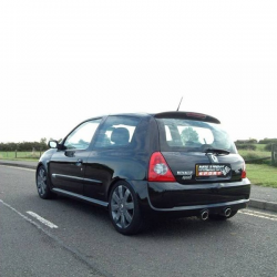 ligne échappement Milltek - Renault Clio II RS 182cv