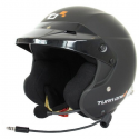 Casque Jet Turn One Jet-RS Intercom - FIA - HANS - Noir