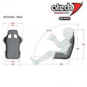 Baquet ATECH Raid FIA 2018