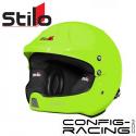 Casque STILO WRC DES Rallye Composite - FIA - SA2015 - vert