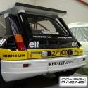 Pare choc Arrière - R5 Turbo Maxi