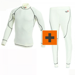 PACK Tee-shirt + Pantalon Turn One Pro - FIA - Blanc