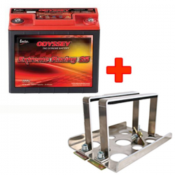 PACK Batterie Odyssey Extreme Racing 25 + Support FIA
