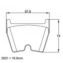 Plaquettes PAGID | Audi RS6 (C5)