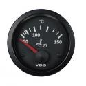 Température d'huile VDO Ø 52 | 150° | fond noir | cerclage noir