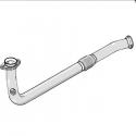 Tube afrique / Décatalyseur inox RC RACING RENAULT CLIO II 1.4 8V 75cv 03/98-