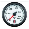Température des gazs d'échappement STACK Ø 52 - 1100°C