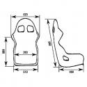 Baquet OMP FIA WRC-R-Carbon