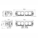 Rampe Lazer Triple R - Standard - 16 leds