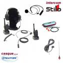Kit radio HYT Race 600 Complet avec intercom micro + écouteur