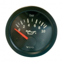 Pression d'huile VDO Vision Diamètre 52 - 0-10 bars