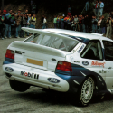 Lunette arrière Makrolon Ford Escort mk5