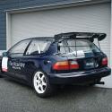 Vitre arrière latérale Makrolon Honda Civic EG6
