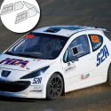 Kit Makrolon Peugeot 207 - 5mm