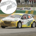 Kit Makrolon Peugeot 208 - 3mm