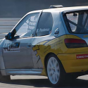 Custode arrière Makrolon Peugeot 306
