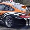 Vitre arrière latérale Makrolon Porsche 997 - avec ouies