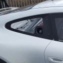 Vitre arrière latérale Makrolon Porsche 991 - avec ouies