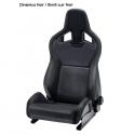 Baquet RECARO Sporster CS - Sans chauffage - Avec Airbag (nombreuses couleurs)