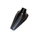 Ecope de refroidissement Naca simple Noir - 76/63mm