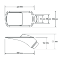 Ecope de refroidissement GT Transparente - 51/63mm