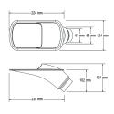 Ecope de refroidissement GT Noir - 51/63mm