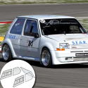 Kit Makrolon Renault Super 5 GT - 3mm