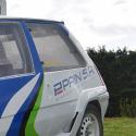 Vitre arrière latérale Makrolon Renault Super 5 GT Turbo