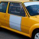 Vitre avant Makrolon Renault 5 GT Turbo