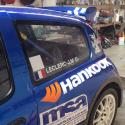 Vitre arrière latérale Makrolon Renault Clio 2