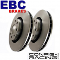 Disques de Frein EBC Groupe N Renault Clio II RS